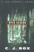 'Open Season' by C. J. Box front cover