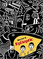 Epileptic by David B English edition front cover