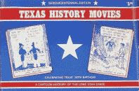 'Texas History Movies' 1985 Sesquicentennial horizontal edition front cover