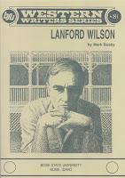 Lanford Wilson by Mark Busby front cover