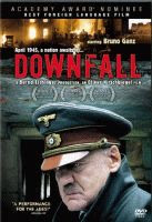 The 'Downfall' region 1 DVD front cover.