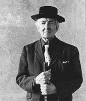 Robert Graves black and white photograph