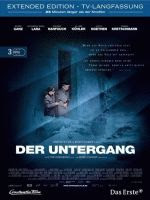 The 'Der Untergang' (aka 'Downfall') German premium edition three disk extended version DVD front cover.