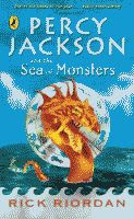 The Sea of Monsters by Rick Riordan British edition front cover