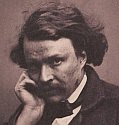 a black and white photo self portrait of Nadar aka Gaspard-Félix Tournachon