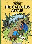 The front cover of 'The Calculus Affair' by Georges 'Hergé' Remi.