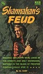 The front cover of 'Shannahan's Feud' by Al Cody.