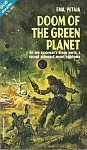 The front cover of 'Doom of the Green Planet' by Emil Petaja.