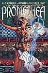 The front cover of 'Promethea' collected edition vol 1 story by Alan Moore, cover art by J H Williams III.