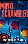 A color photo of the front cover of 'Mind Scrambler' by Chris Grabenstein.