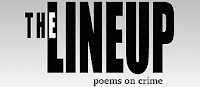 The Lineup, Poems on Crime logo.