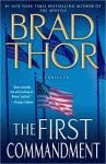 The front cover of 'The First Commandment' by Brad Thor.
