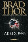 The front cover of 'Takedown' by Brad Thor.