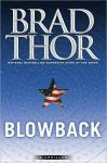 The front cover of 'Blowback' by Brad Thor.