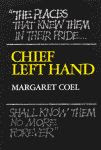 "color photo of the front cover of ""Chief Left Hand, Southern Arapaho"" by Margaret Coel"