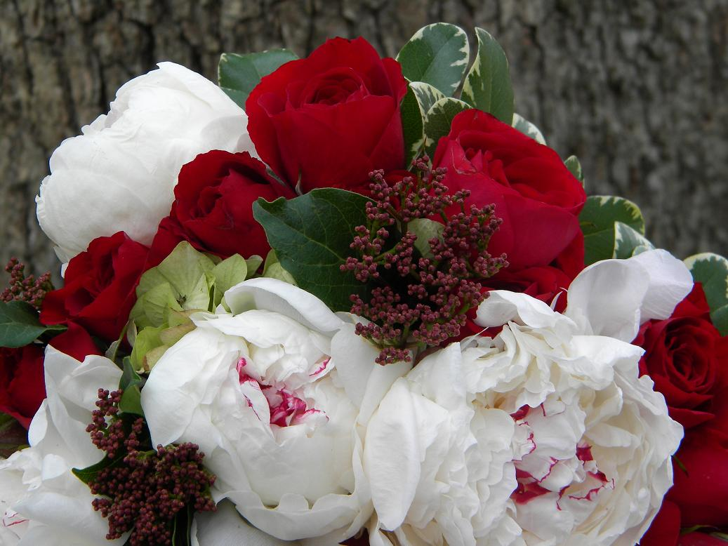 Wedding Flowers from Springwell: Colors of Christmas