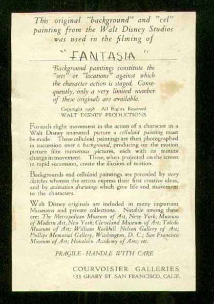 walt disneys fantasia essay Articles about the 1940 film fantasia and its 1999 sequel, fantasia 2000.