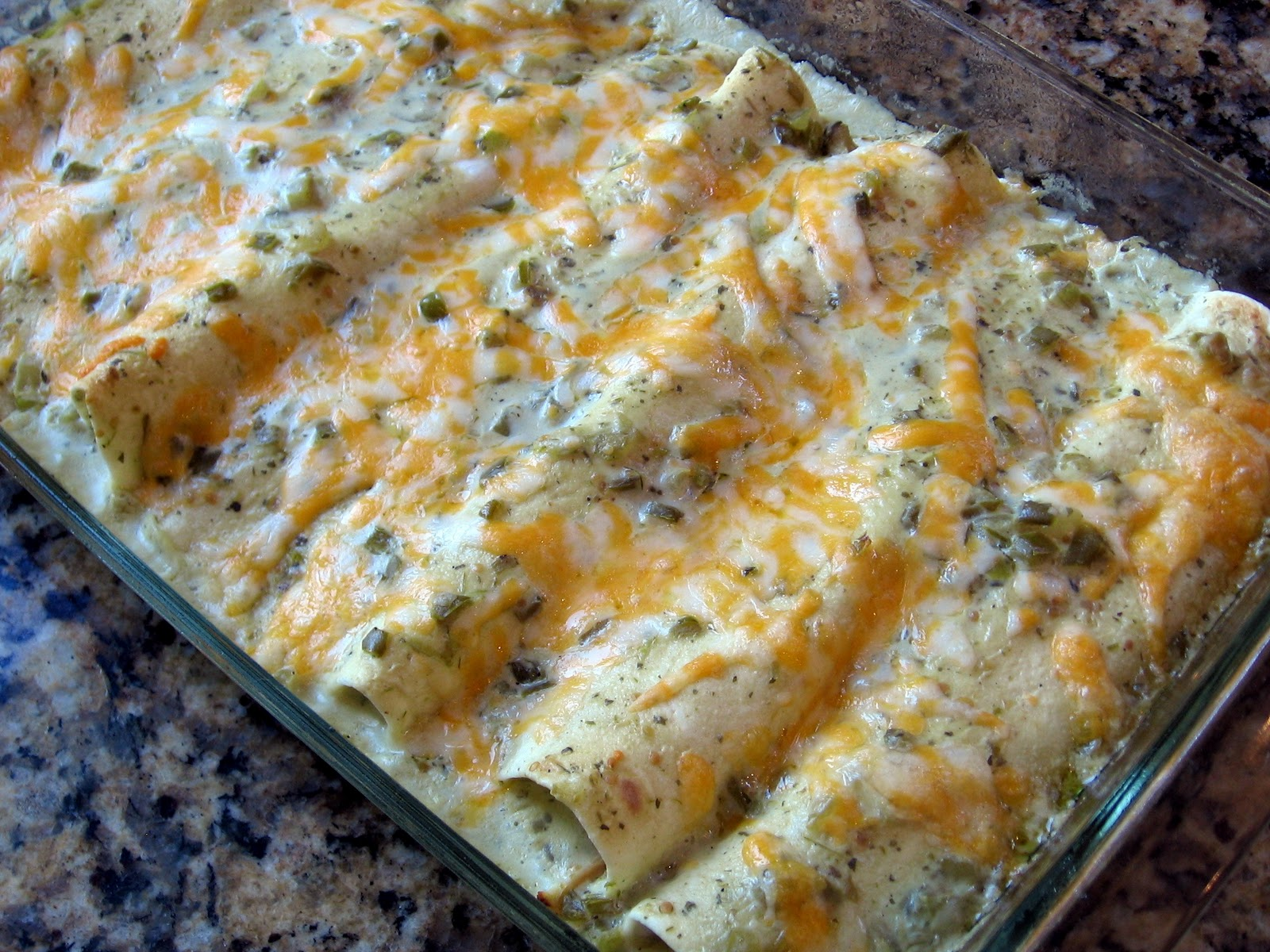 Food Tastes Good!: Salsa Verde Chicken Enchiladas