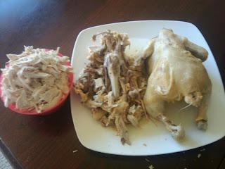 deboning chicken