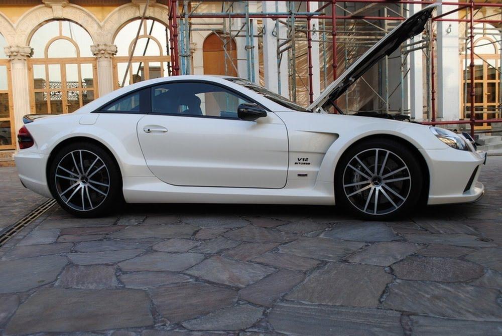 Mercedes Benz Sls Amg Stealth Model. stealth 3 Mercedes Benz SL