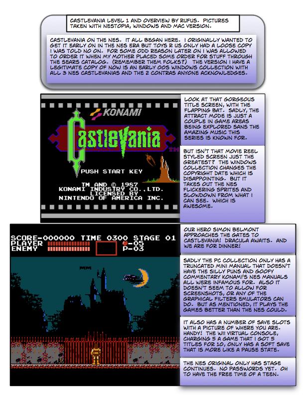 castlevania 1 emulator
