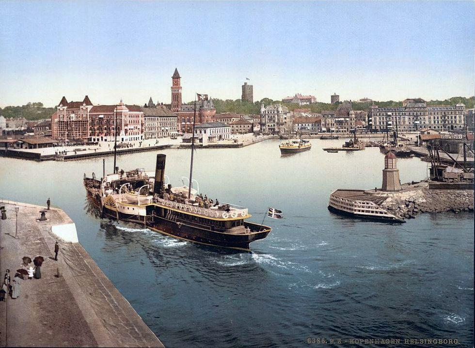 Helsingborg Sweden  city photo : helsingborg in sweden is a 20 minute ferry trip from helsingør in ...