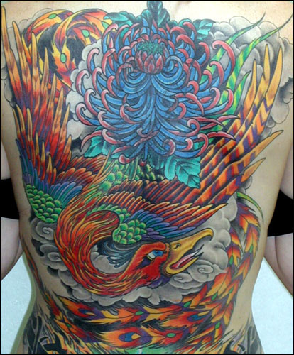 tattoo artwork, the phoenix was known in ancient Egypt