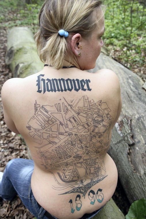 women back tattoos
