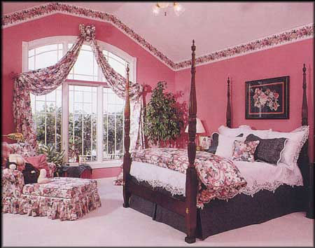 Pink and black bedroom decor bedroom for Black white pink bedroom ideas
