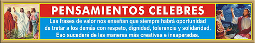 PENSAMIENTOS CELEBRES