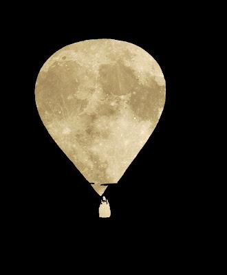 Poesía visual: Luna globo