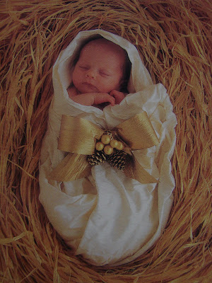 Baby Jesus Picture on Silent Night  Holy Night   Sugar Pie Farmhouse