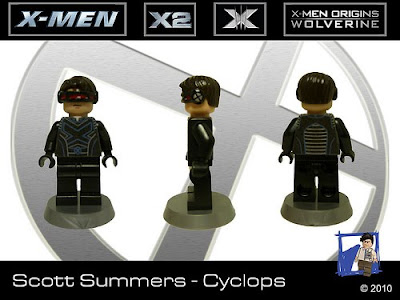 Tin7 Creations' LEGO X-men minifigures