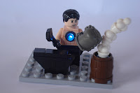 Dawn of The Brick's Iron Man vignette