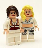 LEGO ABBA minifigures