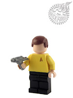 BrickForge phaser for LEGO Star Trek