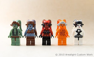 Arealight Custom Twi'lek Minifigures