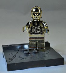Fine Cloniers C3PO Minifigure with Anthony Daniel's autograph