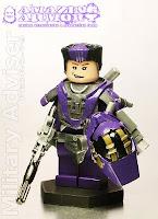 Hazel's Military Advisor Pedro Minifigure