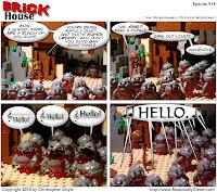 Christopher Doyle's Brick House Comic