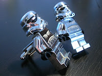 Etsy LEGO Star Wars Chrome Stormtrooper Cufflinks