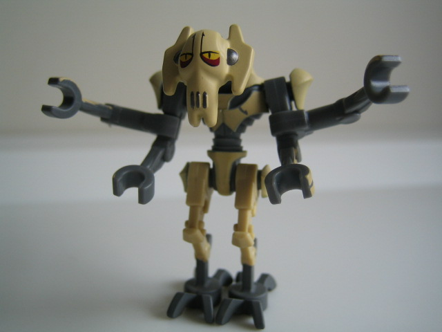 This version of General Grievous is exclusive to set 8095, General  title=