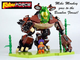Mark Stafford's Monkey Mike FabuForce MOC