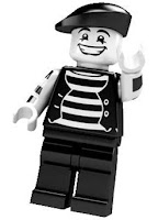 LEGO Collectible Minifigures Series 2 The Mime
