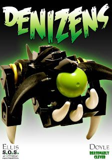 Denizens Brick Comic Front Cover