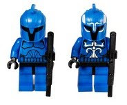 LEGO Star Wars Minifigures Senate Commandos