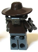 LEGO Star Wars Cad Bane Back Shot