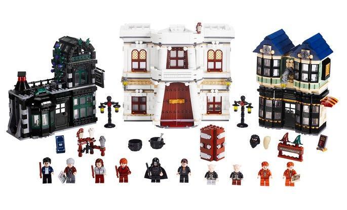 harry potter castle lego. the LEGO Harry Potter sets