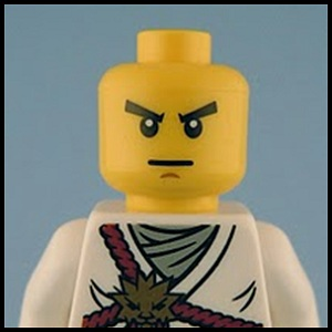 LEGO Black Ninjago Cole Minifig Torso Body Part with Gold Medallion