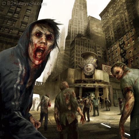 """Francia... Misión """"Cross Line""""  Zombies"""